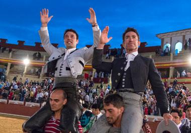 Pleno de Andy, a hombros con Leonardo en Cuenca