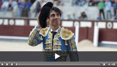 Gómez del Pilar, Javier Cortés y Palha golpean en el desafío ganadero de Las Ventas