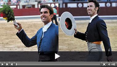 Sergio Galán y Leonardo Hernández, oreja en la primera de Otoño en Las Ventas