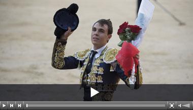 Alejandro Rodríguez, concepto y ganas, ganador en Las Ventas