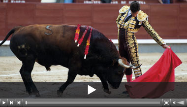 Luque y un bravo Entonado para cerrar el año en Las Ventas