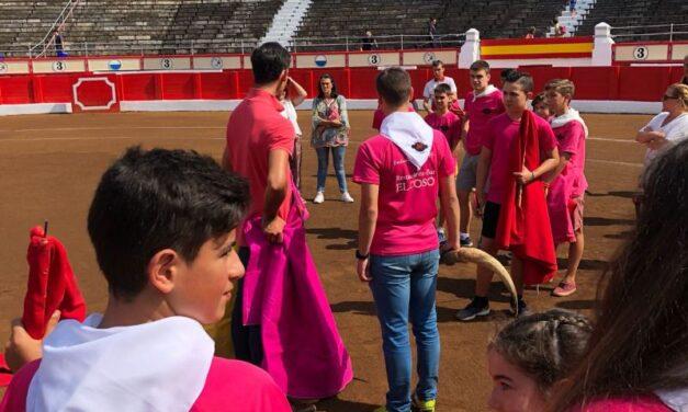 Román y Fortes, clase magistral con los más pequeños en Santander