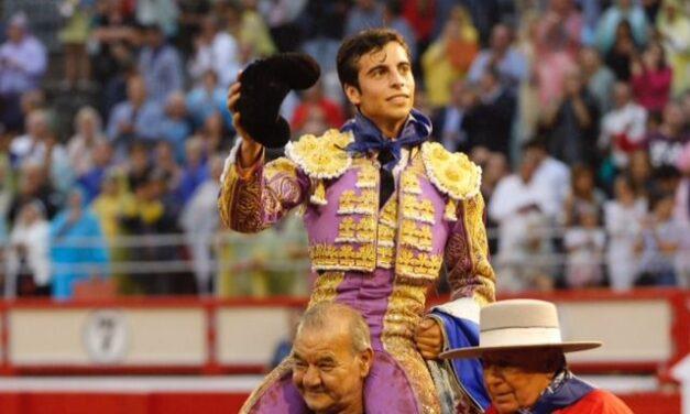 Un ambicioso Alejandro Marcos abre la puerta grande en Santander