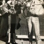 Manolo Herrero junto a su cuñado recientemente fallecido Pepe Martí