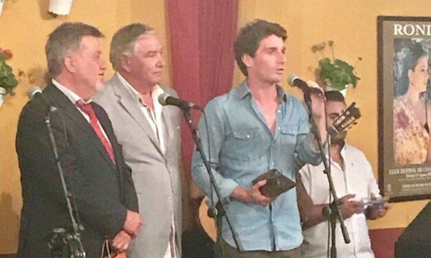 """Alfonso Cadaval, premio a la """"Mejor Faena"""" en la novillada de Ronda"""