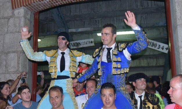 Padilla y El Fandi, a hombros en San Sebastián de los Reyes