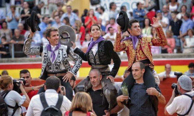 Broche de oro a caballo en Palencia