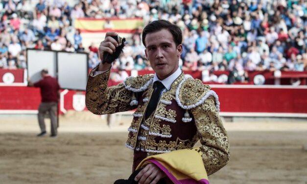 Buena tarde de Sergio Felipe, única oreja en Albacete