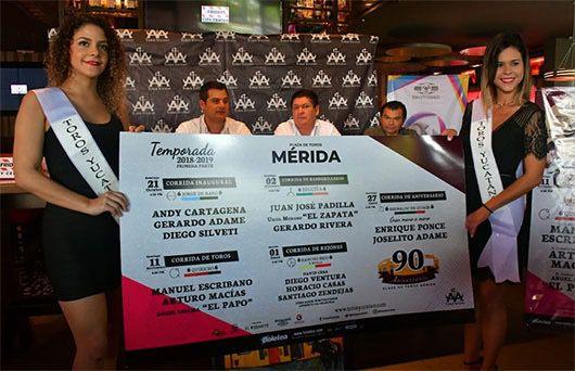 Presentación de la Temporada 2018-2019 en Mérida