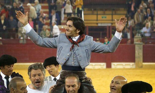 Diego Ventura, pletórico, corta cuatro orejas en Zaragoza