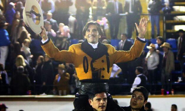 Diego Ventura, tres orejas en Puebla