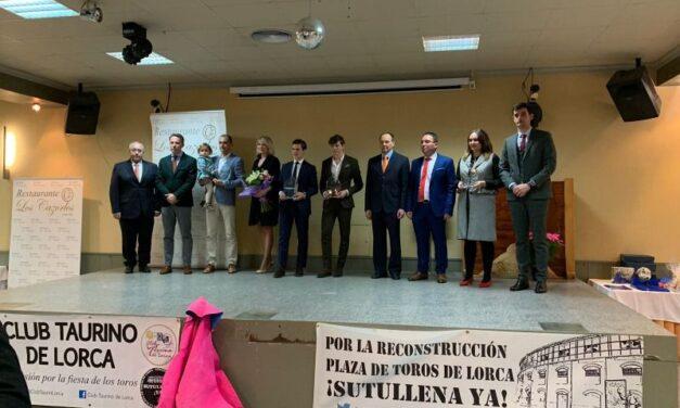 El Club Taurino de Lorca entrega sus premios 2018