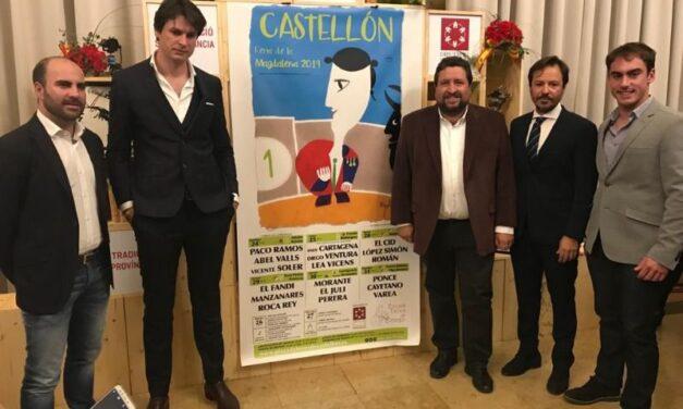 Castellón presenta la Magdalena, una semana completa de toros