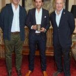 Pablo Lozano, Diego Ventura y Andrew Moore