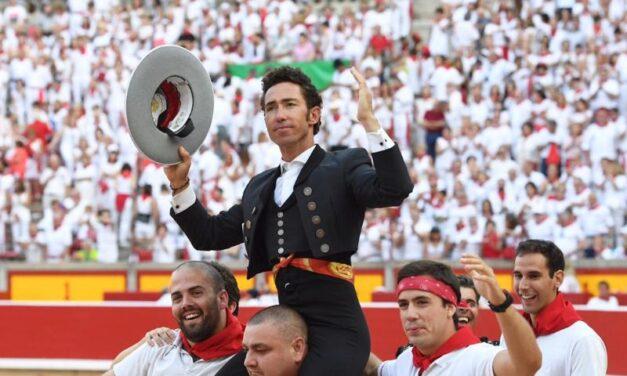 Un rotundo Leonardo Hernández pisa fuerte en Pamplona
