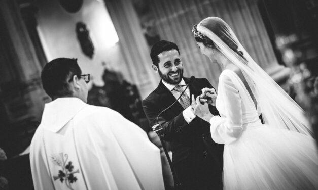 Dámaso González y Miriam Lanza contraen matrimonio