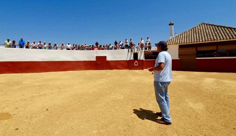Visita abonados Malagueta a la Palmisilla