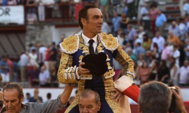 Cumbre de El Cid con un gran Baratero en Colmenar Viejo
