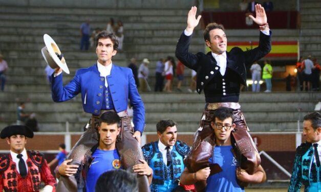 Andy Cartagena y Sergio Galán, a hombros en Sanse