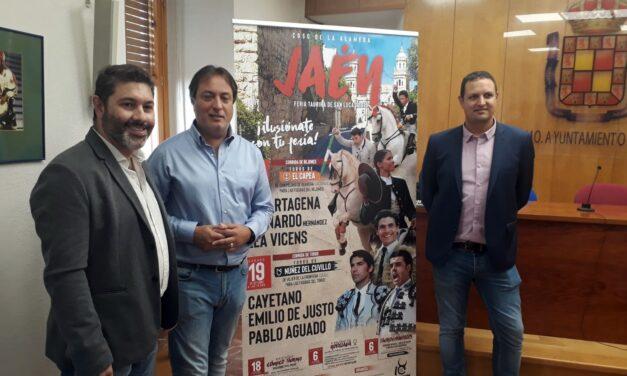 Cayetano, De Justo y Aguado, cartel estrella en Jaén