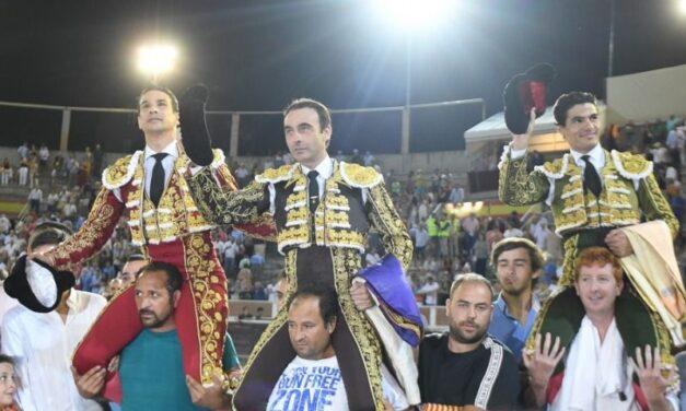 Ponce, Manzanares y Aguado, gran espectáculo en Sanse