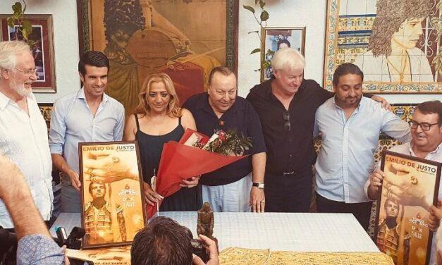 La familia de Camarón se vuelca con Emilio de Justo