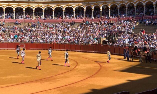 Definida la terna de la novillada del 27 de septiembre en Sevilla