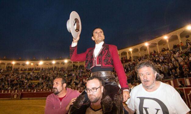 Diego Ventura, puerta grande en Albacete