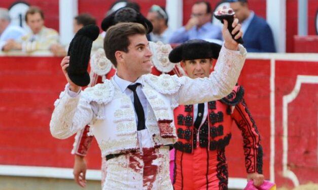 Rubén Pinar, triunfador de la feria de Albacete