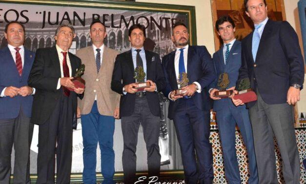 Entregados los Trofeos Juan Belmonte en Sevilla
