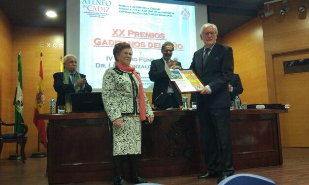 Rafael Comino recibe el premio Gaditano del Año