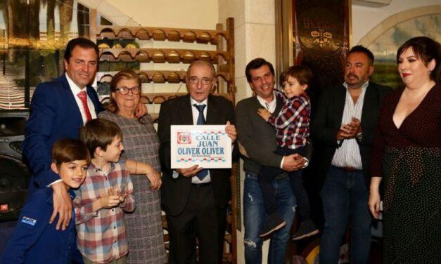 La Peña Pacorro de Alicante homenajea a Juan Oliver