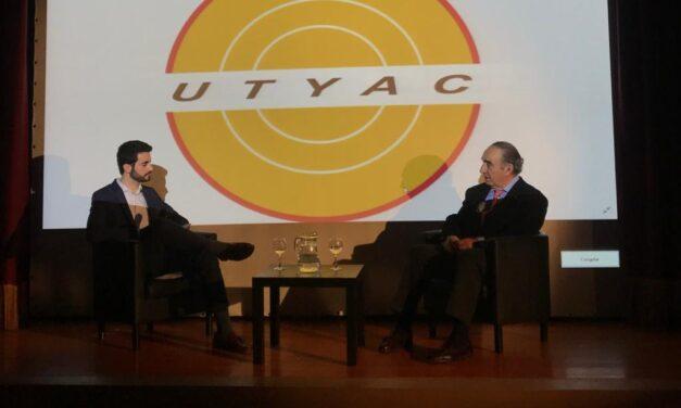 Brillante inauguración del ciclo de conferencias de UTYAC con Ricardo Gallardo