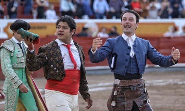 Andy Cartagena y Luis David, oreja en Jalostotitlán