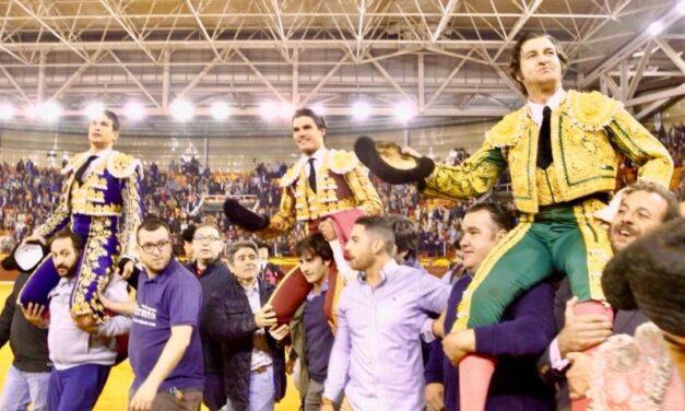 Morante, Manzanares y Aguado, recital de toreo en Illescas