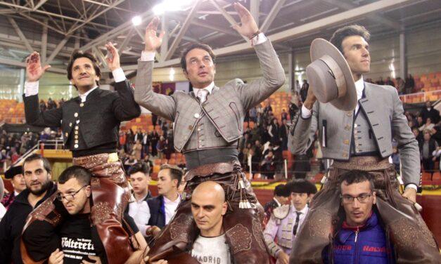 Un gran Ventura triunfa con Galán y Andy en Illescas
