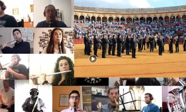 La banda del Maestro Tejera suena desde casa