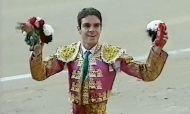 José Tomás y su primer aldabonazo como matador en Las Ventas