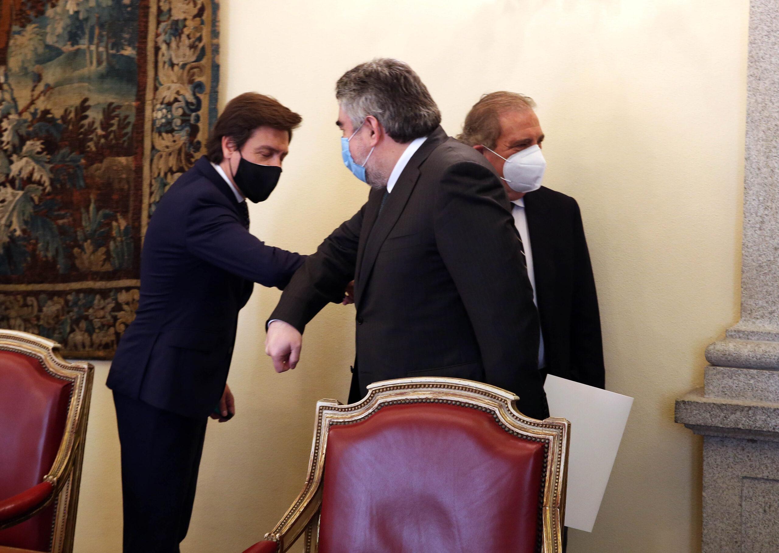 Reunión entre el ministro de Cultura y la Fundación Toro de Lidia