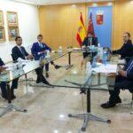 Reunión del sector taurino con el Gobierno de la Región de Murcia.