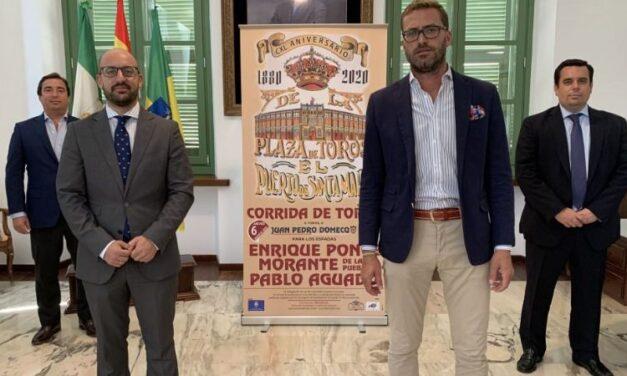 Cartel de lujo para conmemorar los 140 años de vida de la plaza de El Puerto de Santa María