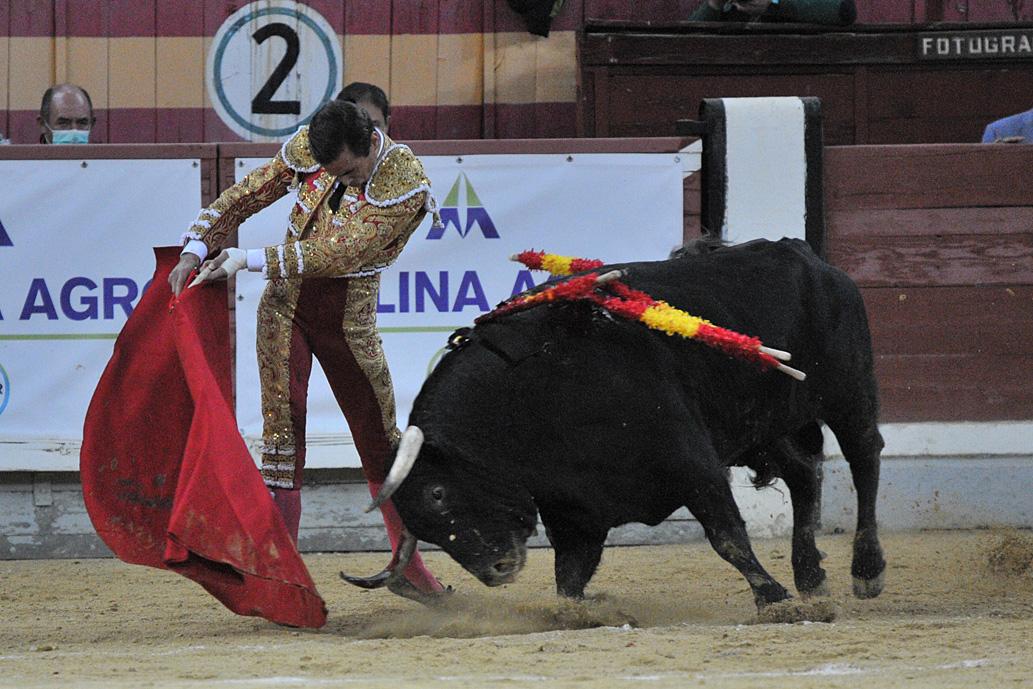 Juan Ortega en el reino de Morante