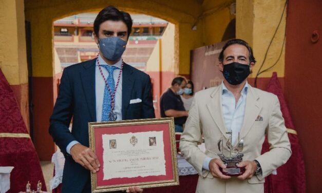 La cuadra de Antonio Peña y Miguel Ángel Perera, distinguidos en Huelva