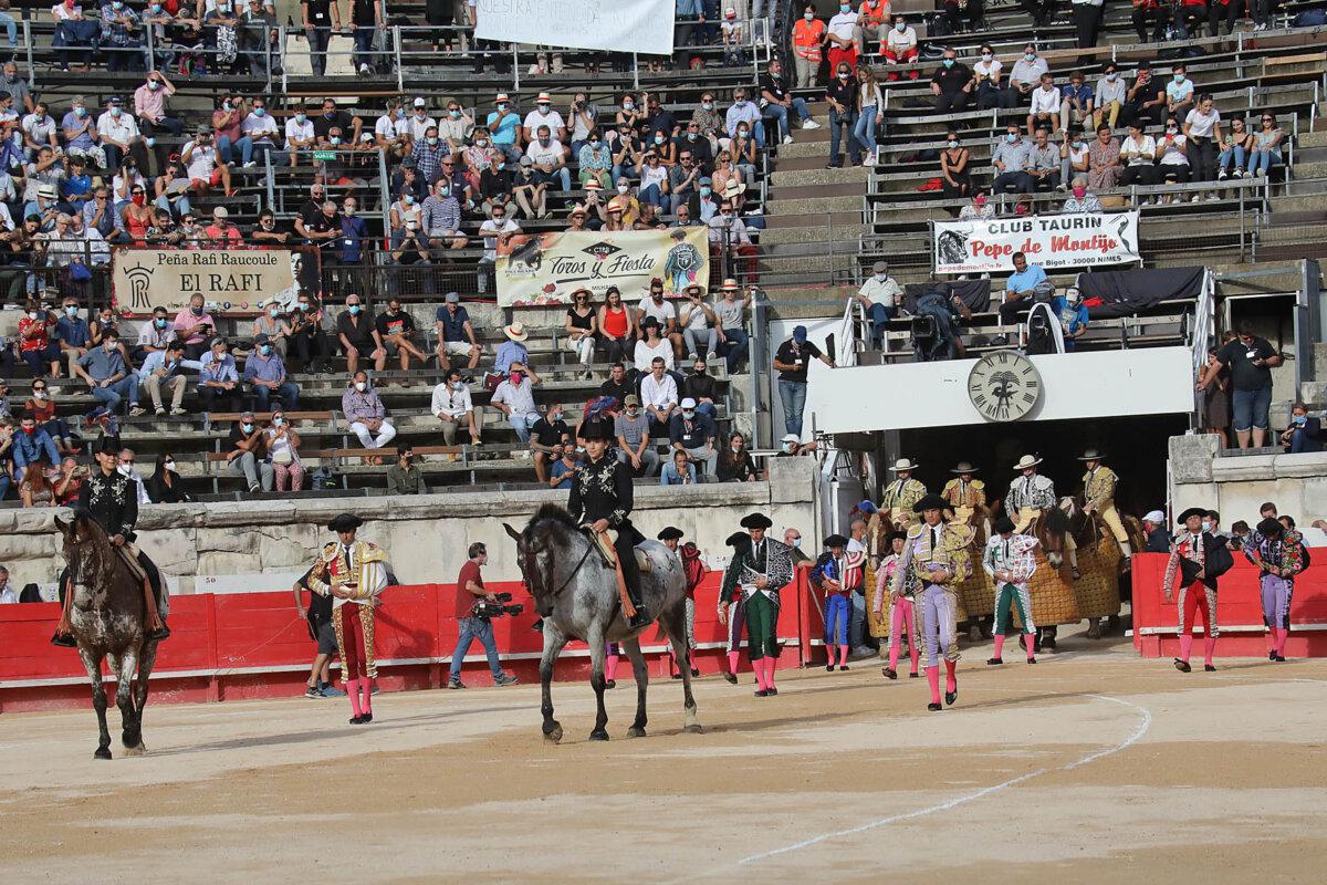 Cuatro corridas de toros en tres días, como mínimo, en la feria de Nimes