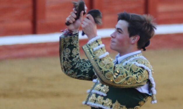 Gustan las buenas maneras de Adrián Reinosa en Manzanares