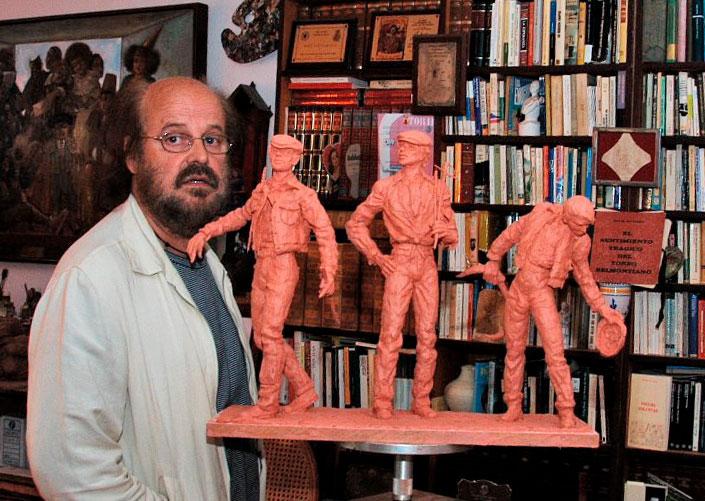 Fallece a los 63 años el pintor y escultor Jesús Cuesta Arana