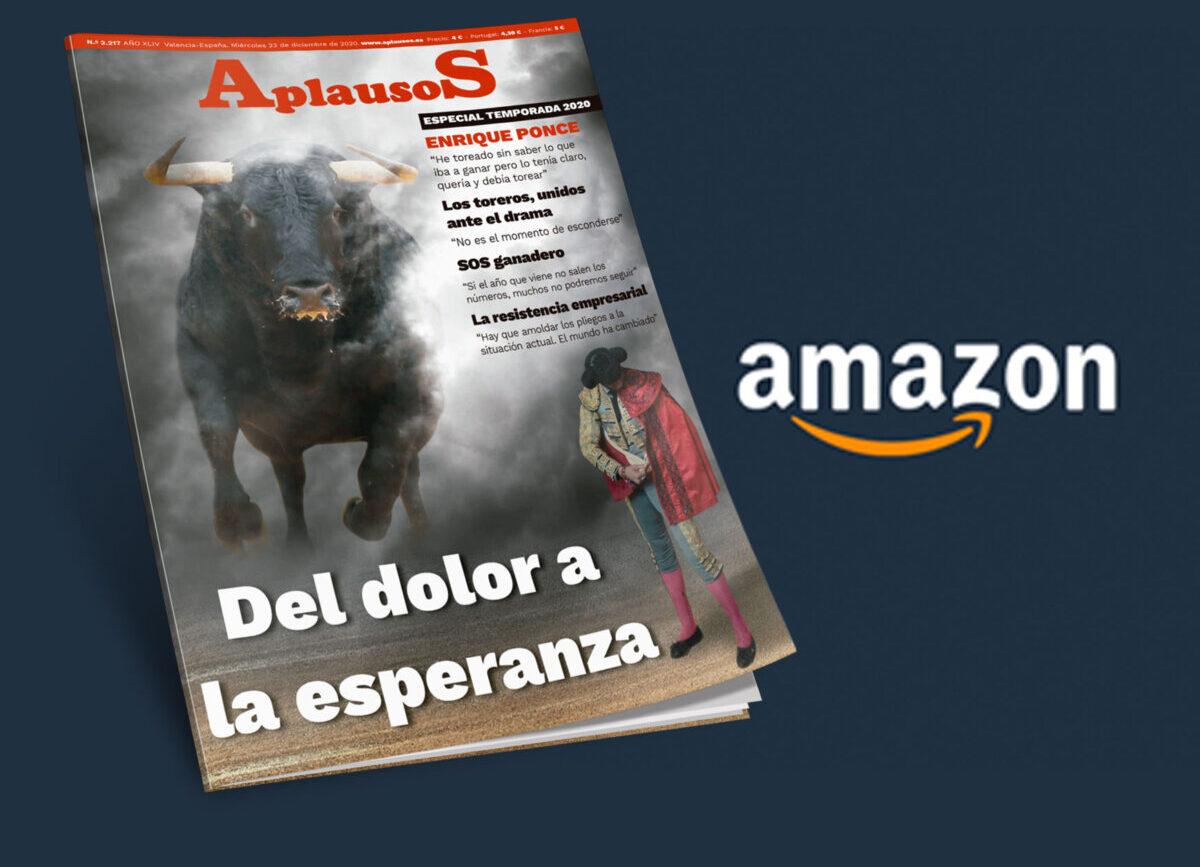 Ya puedes comprar Aplausos en papel a través de Amazon