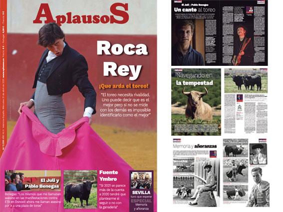 Roca Rey, Fuente Ymbro, El Juli, Pablo Benegas… y un sentido recuerdo a Sevilla en el nuevo APLAUSOS