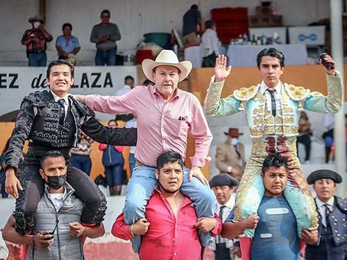 El Moso y Montoyita triunfan en Tlahuelilpan