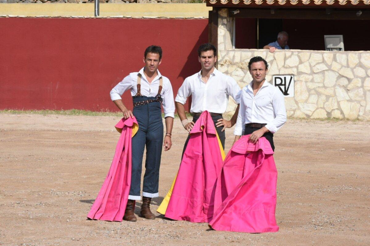 Rafaelillo, Paco Ramos y Pinar velan armas para los miuras en Castellón
